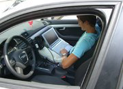 Auto - Kraftfahrzeug - Abgasmessungen