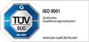 TÜV SÜD ISO 9001 Zertifizierung Gabriel-Technologie