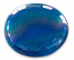 Gabriel-Crystal (Ø ca. 30 mm), hellblau