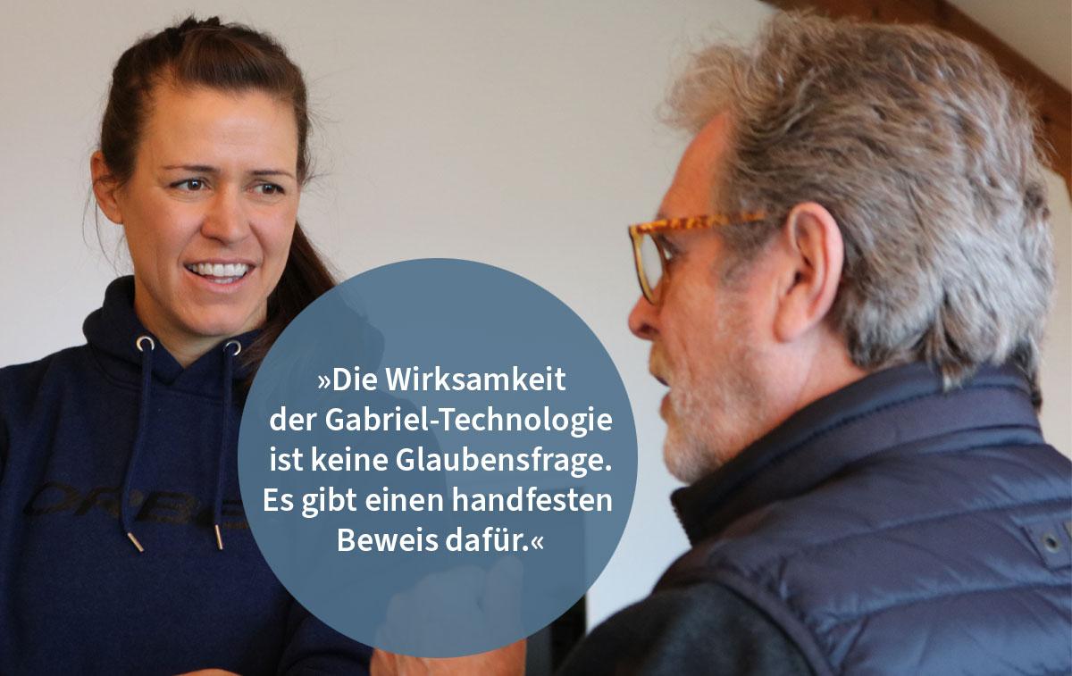 Häufig gestellte Fragen (FAQs) rund um die Gabriel-Technologie: Spitzensportlerin Ariane Lüthi antwortet