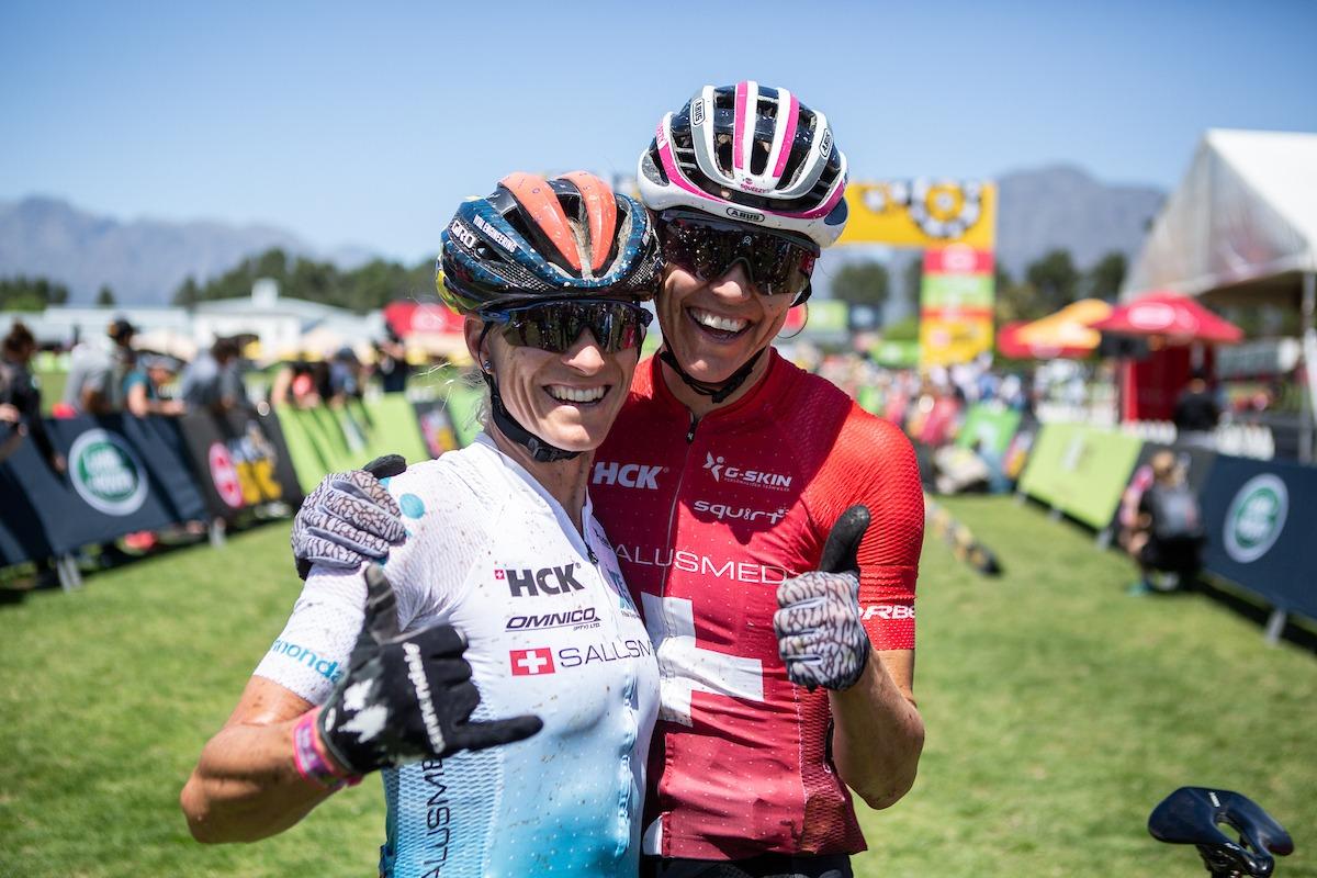 Team SALUSMED – Cape Epic 2021 – Platz 3 – Foto: Nick Muzik